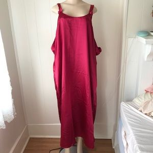 Vintage Red 4x Nightgown